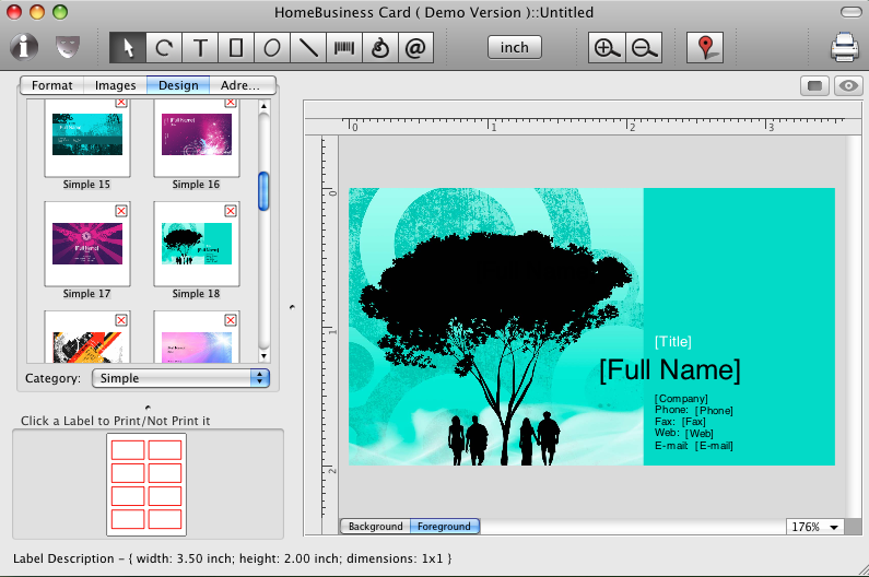 Www Cristallight Net Home Business Card Mac Business Card Software Qr Code On A Business Card