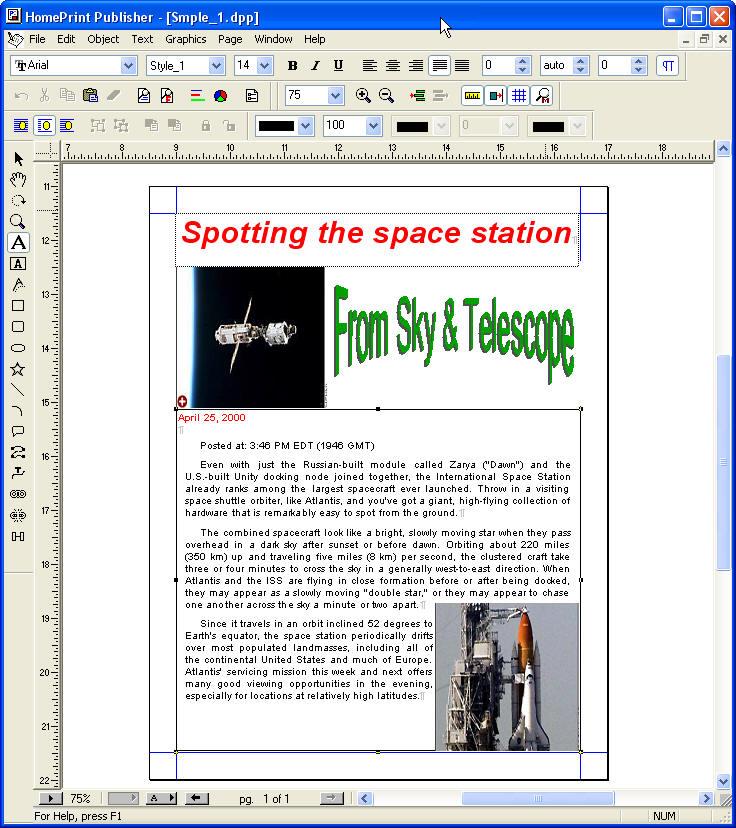 HomePrint Publisher